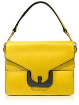 Coccinelle Women's Yellow Leather Shoulder Bag.