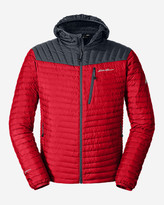 Eddie Bauer Men's MicroTherm StormDown Hooded Jacket