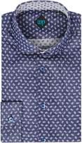 Men's WP Rylett double faced floral shirt
