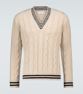 Dries Van Noten Deep V-neck sweater