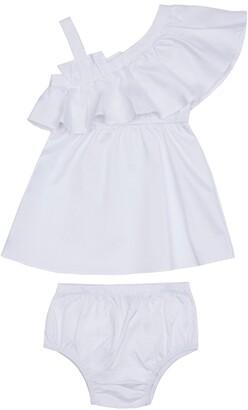 Habitual Ruffle Shoulder Dress