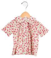 Rachel Riley Girls' Floral Button-Up Top w/ Tags