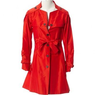 Celine Red Cotton Coats