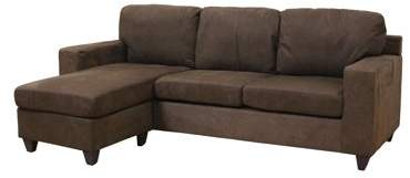 Stupendous Acme Vogue Sectional Sofa Chocolate Microfiber Bralicious Painted Fabric Chair Ideas Braliciousco