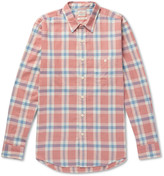 Faherty - Seaview Checked Cotton-flannel Shirt