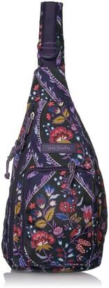 Vera Bradley Lighten Up Mini Sling Backpack Polyester