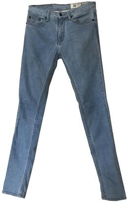 Religion Blue Cotton Jeans for Women