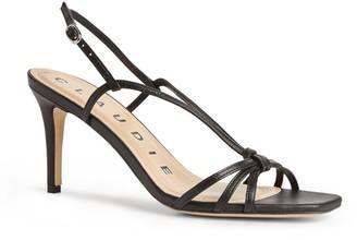Claudie Pierlot Leather Strap Sandals 80