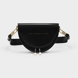 CHYLAK Saddle Bag In Black Leather