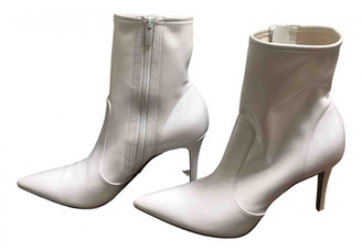 Gianvito Rossi White Patent leather Ankle boots