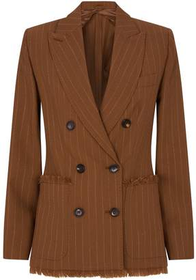 Max Mara Wool-Canvas Jacket