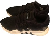adidas EQT Support Black Leather Trainers