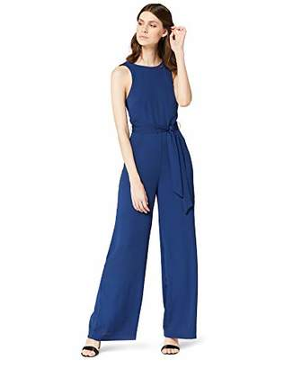 TRUTH & FABLE Women's Wrap Back Jumpsuit,(Manufacturer Size: 42)
