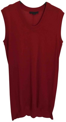 Alexander Wang Red Wool Top for Women