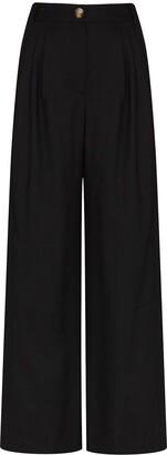 REJINA PYO Ingrid high-waisted wide-leg trousers