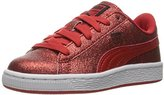 Puma Basket Holiday Glitz Kids Sneaker (Little Kid/Big Kid)