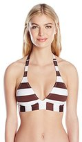 Pilyq Women's Banded Halter Bikini Top