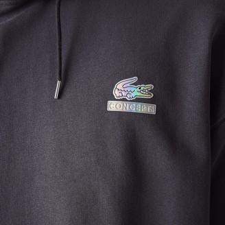 Lacoste Men's CONCEPTS Collaboration Hooded Fleece Sweatshirt