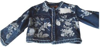 Vivienne Westwood Blue Cotton Leather jackets