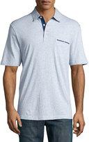 Neiman Marcus Classic Polo Shirt, Light Blue