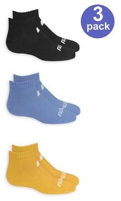 Russell Boys Socks, 3 Pack Low Cut Athletic Premium (Little Boys & Big Boys)
