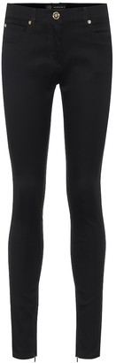 Versace Stretch-cotton skinny jeans