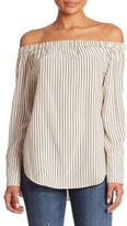 Rag & Bone Greta Striped Silk Blouse