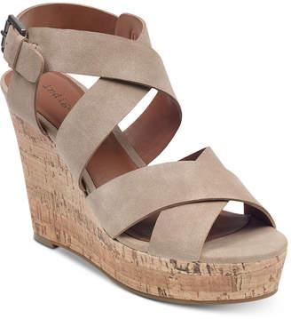 Indigo Rd Keffie Wedge Sandals Women Shoes