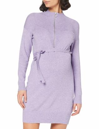 Mama Licious Mamalicious Women's MLNELLY LIA L/S Knit Dress ABK 2F