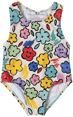 Stella McCartney Flowers Print One Piece Swimsuit