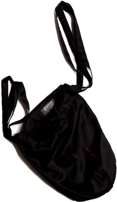Kokoro Organics Bamboo Silk Beanie Bag In Black