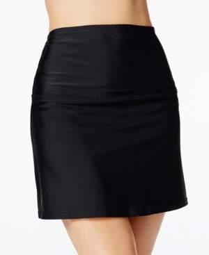Island Escape Swimwear La Palma High-Waist Tummy Control Swim Skirt, Created for Macy's Women's Swimsuit