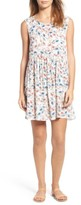 Hinge Women's Print Swing Dress