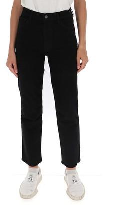 J Brand High Waist Slim Fit Straight Jeans