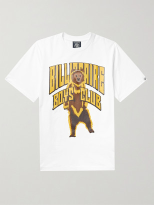 Billionaire Boys Club Standing Bear Logo-Print Cotton-Jersey T-Shirt