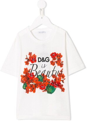 Dolce & Gabbana 'D&G is Beauty' T-shirt