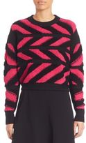Public School Inlay Chevron Pullover