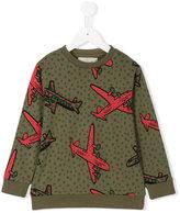 Stella McCartney plane print sweatshirt - kids - Cotton - 2 yrs