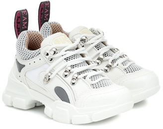 Gucci Kids Flashtrek leather sneakers
