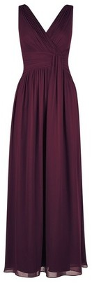 Dorothy Perkins Womens **Petite Oxblood 'Darcy' Maxi Dress