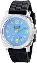 TKO ORLOGI Women's TK558-NB Milano Junior Acrylic Case Blue Dial Watch