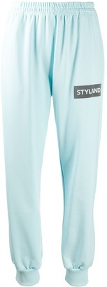 Styland Logo-Print Track Trousers