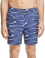 Vineyard Vines Whale Bungalow Swim Trunks