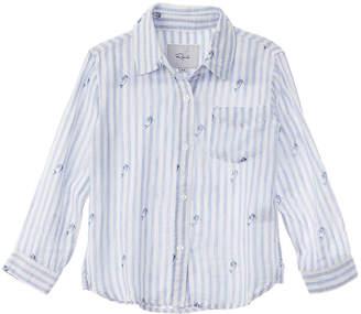 Rails Little Cora Linen-Blend Shirt