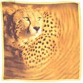 Roberto Cavalli Silk Lion Print Scarf