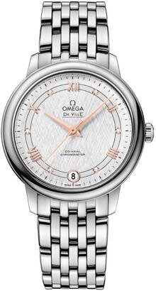Omega Stainless Steel De Ville Prestige Watch 33mm