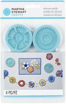 Martha Stewart Crafter's Clay Silicon Molds 4/pkg-graceful Bloom