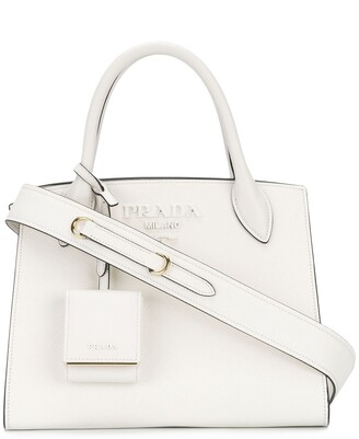 Prada monochrome Saffiano bag