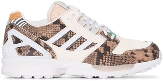 adidas ZX 8000 panelled leather sneakers