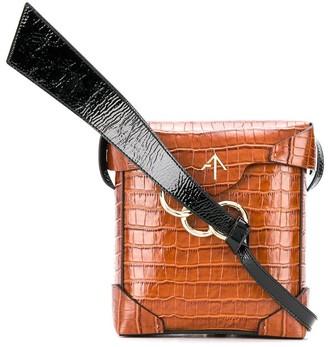 MANU Atelier Structured Shoulder Bag